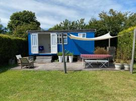 Little blue house (on the campsite), campground in Oostvoorne
