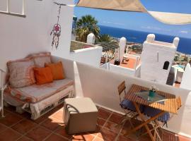 Tenerife Ocean View terrace, lodge in Adeje