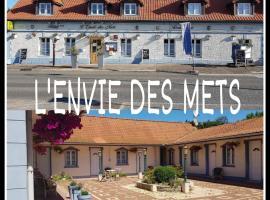 L'envie des mets, hôtel à Rang-du-Fliers