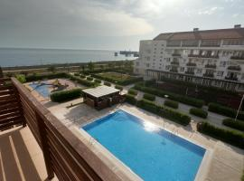 Apartment on Parusnaya 19, hotel near Bolshoy Ice Palace, Adler