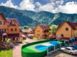 Hotel Malina, hotel with pools in Manzherok