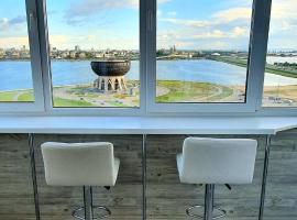 Видовые люкс апартаменты около Чаши и аквапарка Ривьера, апартаменты/квартира в Казани