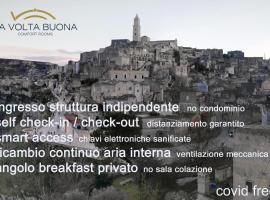 LaVoltaBuona, hotel con parking en Matera