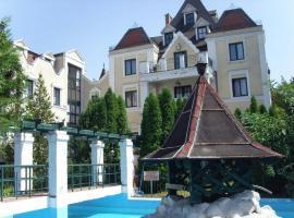 Ramona Schloss, hotel a siófoki vasútállomás környékén Siófokon