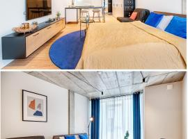 Happy Inn GOLD Studio, self check-in, Parking in the underground garage, hotel near Lithuanian National Opera and Ballet Theatre, Vilnius