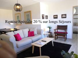 Charmant appartement st Tropez avec parking gratuit