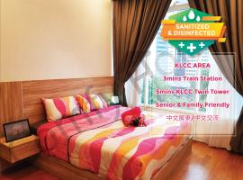 5 STAR & LUXURY Apartment near KLCC/ KL City Centre, apartment in Kuala Lumpur