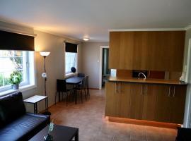 Praktisk leilighet i Kristiansand til 5, feriebolig i Kristiansand