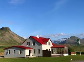 Viesnīca Sudur-Bár Guesthouse pilsētā Grundarfjordira