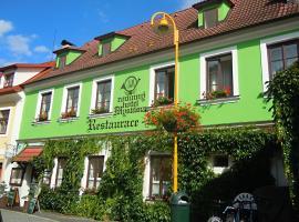 Hotel Myslivna, hotel v destinaci Třeboň