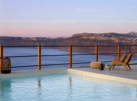 Melidonia Suites, hotel Akrotíriben