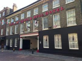 The Royal Victoria & Bull Hotel, hotel near Rochester Castle, Rochester