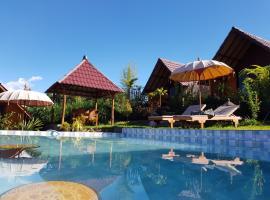 Bukit Catu Hostel and bungalows, glamping site in Kintamani