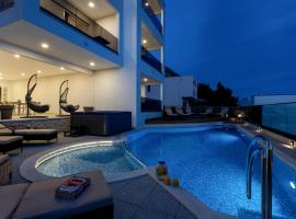 Apartments Villa Medo, hotel with jacuzzis in Makarska