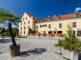 Spa Hotel Centrum, отель во Франтишкови-Лазне