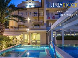 Hotel Luna Riccione e Aqua Spa Only Adults +12, hôtel à Riccione