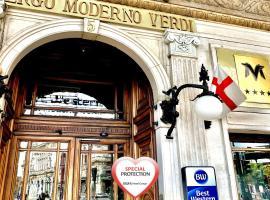 Best Western Hotel Moderno Verdi, отель в Генуе