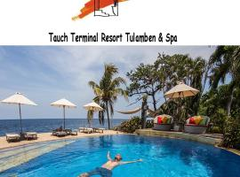 Tauch Terminal Resort Tulamben & Spa, отель в Туламбене