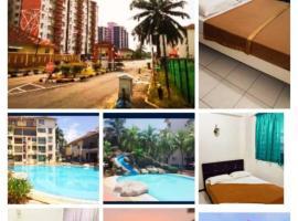 HOLIDAY APARTMENT AT PD PERDANA CONDO RESORT, apartment in Port Dickson