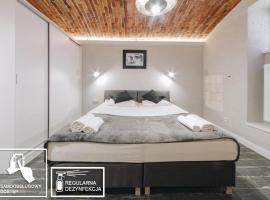 Platan Apartments-Cosy and unique-Studio- big bed, hotel conveniente a Cracovia