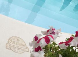 Cridda Hotel & Restaurant, hotell nära Lamezia Terme internationella flygplats - SUF, Gizzeria