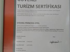 Syedra Princess Hotel, hotel in Mahmutlar