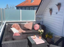 Big City Central Apartment / Balcony, feriebolig i Stavanger