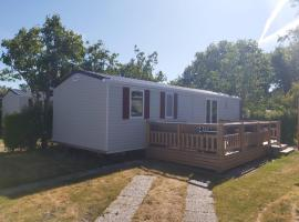 Luxe chalet Renesse, 6 persoons, campground in Renesse
