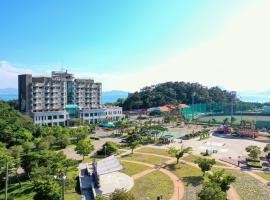 남해에 위치한 호텔 남해스포츠파크호텔