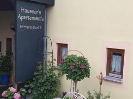 Hausner's Apartments, serviced apartment in Altenstadt an der Waldnaab