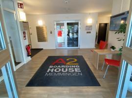 A2 Boarding House Memmingen, hotel in zona Aeroporto di Memmingen - FMM,