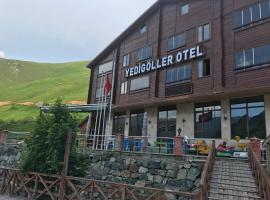 Yedigoller Hotel & Restaurant, отель в городе Узунгёль