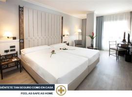 Hotel Gran Via, hotel Logroñóban