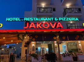 Piazza Hotel JAKOVA, Hotel in Ksamil