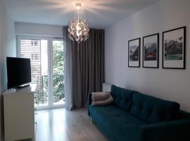 Apartament Rose 9 Świnoujście, apartment in Świnoujście