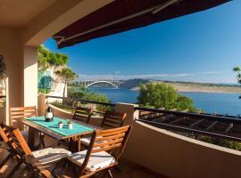 Captain's Apartment with Sea View, hotel near Rijeka Airport - RJK,