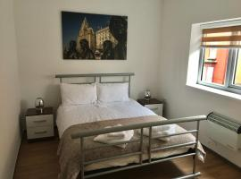 Flats near football clubs, hotel in Liverpool