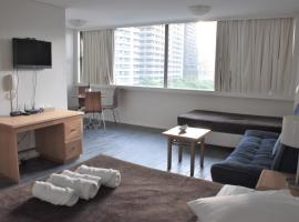 Accommodation Sydney City Centre - Hyde Park Plaza Park View College Street Studio Apartment, apartment in Sydney