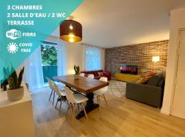 NOUVEAU Casa Opéra appt style loft cosy lumineux 20 min Paris, self catering accommodation in Massy