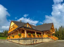 Olza Karczma i pokoje – hotel w pobliżu miejsca Wyciąg narciarski Mały Rachowiec w Istebnej