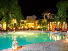 Moroccan-Style Paradise with Pool & Maid at Casa de Campo, hotel with jacuzzis in La Romana