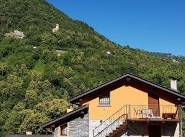 La baita di Eleonora, farm stay in Argegno