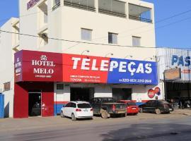 Hotel Melo, hotel in Montes Claros