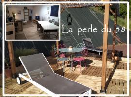 La perle du 58 - Charmant T2 Parking Wifi Terrasse, apartment in Rodez