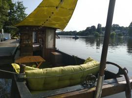 Bateau : Nuit insolite sur l'Erdre en toue cabanée, boat in Nantes