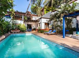 Mawi Infinitty Villa, hotel with pools in Arambol