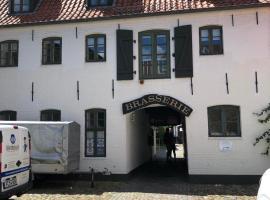 Zimmer in Gemeinschafts-Ferienwohnung Brasserie Hof, privat indkvarteringssted i Flensborg
