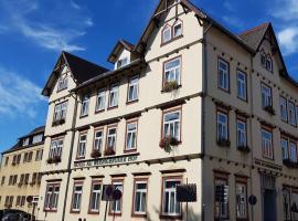 Garni-Hotel Alt Wernigeröder Hof, hotel a Wernigerode