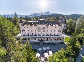 Romantik Hotel Schweizerhof, отель во Флимсе