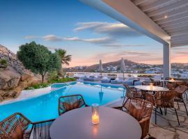 Deliades Hotel, hotel in Ornos